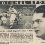 Revista Radio Microfonul Sportiv 4 octombrie 1936