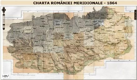 harta RO 1864