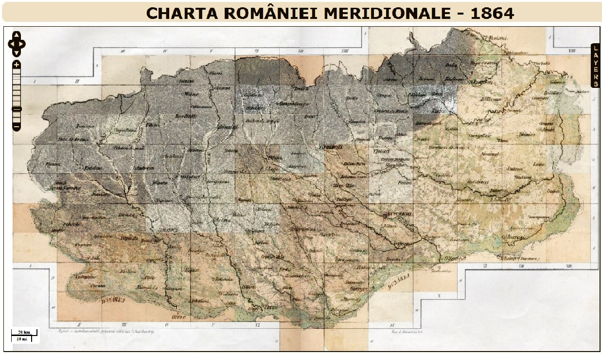 Prima Hartă Pe Care A Scris Romania Accesibilă In Format Google